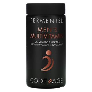 CodeAge, Fermented, Men's Multivitamin, 120 Capsules