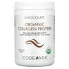 CodeAge, Organic Collagen Protein, Chocolate, 10.58 oz (300 g)