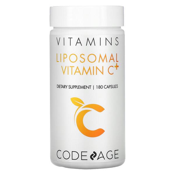 витамины, липосомальный витаминС+, 180капсул
