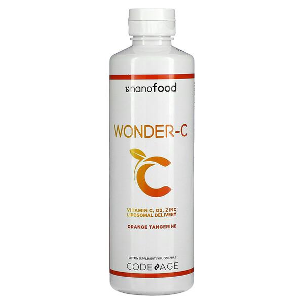 Wonder-C, Liposomal Delivery, Orange Tangerine, 16 fl oz (473 ml)