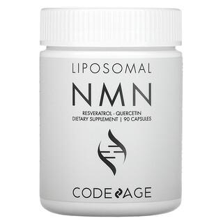 CodeAge, Liposomal NMN, Resveratrol, Quercetin, 90 Capsules