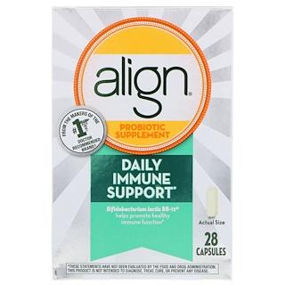 Align Probiotics, Daily Immune Support, Probiotic Supplement, 28 Capsules