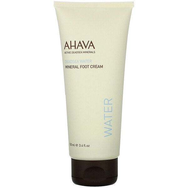 AHAVA, Deadsea Water, Mineral Foot Cream, 3.4 fl oz (100 ml)