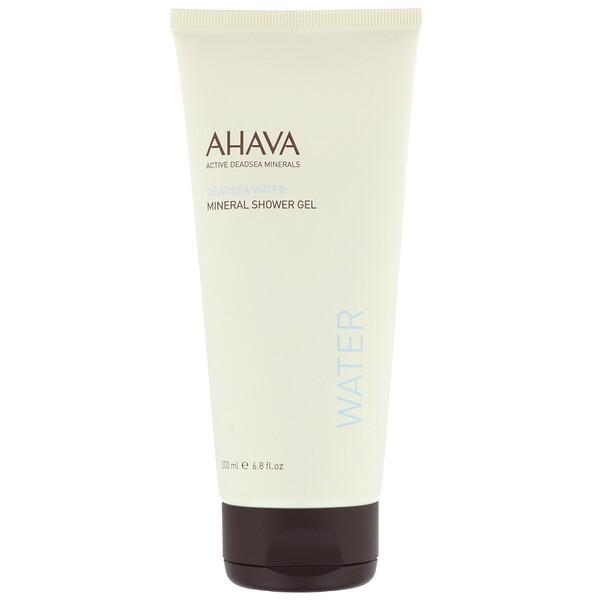 AHAVA, Deadsea Water, Mineral Shower Gel, 6.8 fl oz (200 ml) (Discontinued Item)