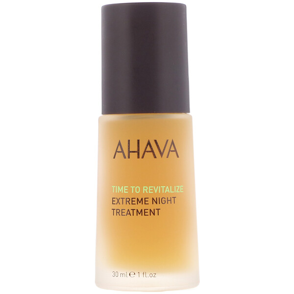 AHAVA, Time To Revitalize, Extreme Night Treatment, 1 fl oz (30 ml) (Discontinued Item)