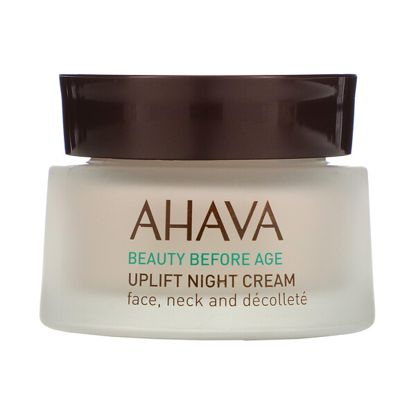 AHAVA, Beauty Before Age, Uplift Night Cream, 1.7 fl oz (50 ml) (Discontinued Item)