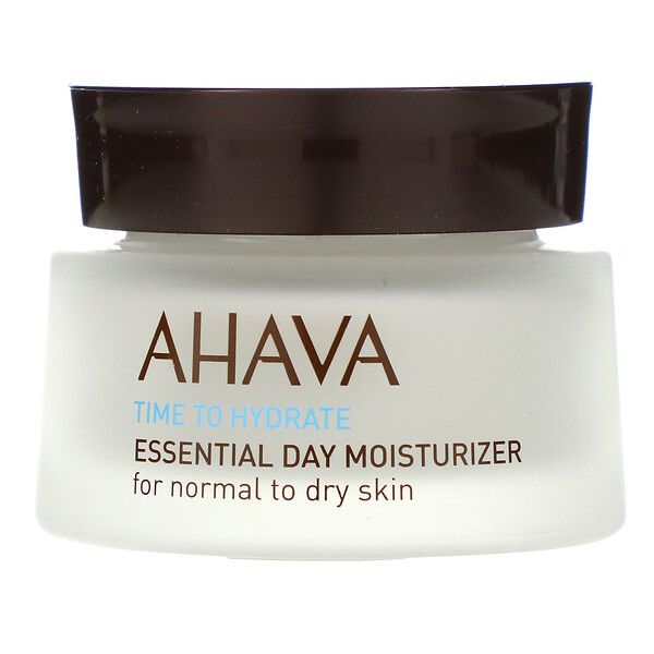 AHAVA, Time To Hydrate, Essential Day Moisturizer, Normal To Dry Skin, 1.7 fl oz (50 ml) (Discontinued Item)
