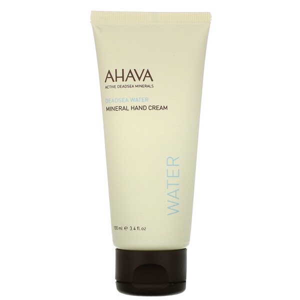 AHAVA, Deadsea Water, Mineral Hand Cream, 3.4 fl oz (100 ml) (Discontinued Item)