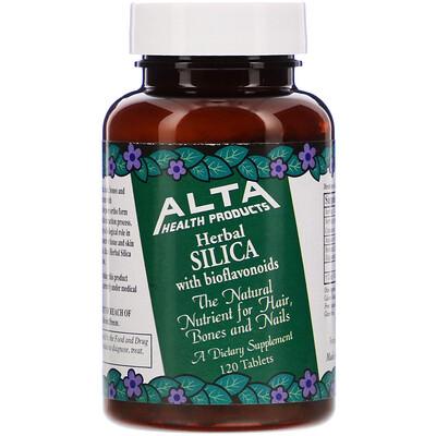 Купить Herbal Silica with Bioflavonoids, 120 Tablets