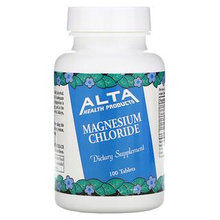 Alta Health, Хлорид магния, 100 таблеток