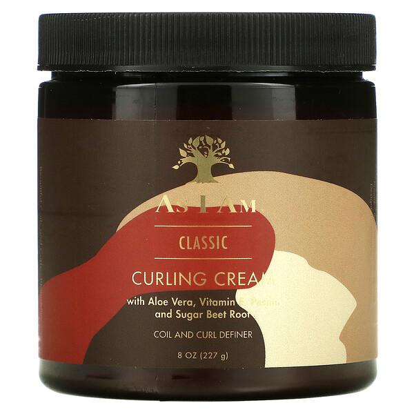 Classic, Curling Cream, 8 oz (227 g)