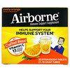 AirBorne, 機體抵抗支持補充劑,濃郁橙味,3 管,每管 10 片泡騰片