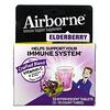 AirBorne, Immune Support Supplement, Elderberry, 2 Tubes, 10 Effervescent Tablets Each