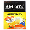 AirBorne, Immune Support Supplement, Zesty Orange, 2 Tubes, 10 Effervescent Tablets Each