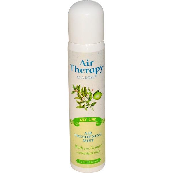 Mia Rose, Air Therapy, Environmental Essence, Key Lime, 4.6 fl oz (136 ml) (Discontinued Item)