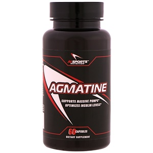 AI Sports Nutrition, Agmatine, 60 Capsules
