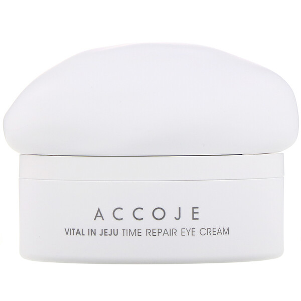 Accoje, Vital in Jeju, Time Repair Eye Cream, 30 ml (Discontinued Item)