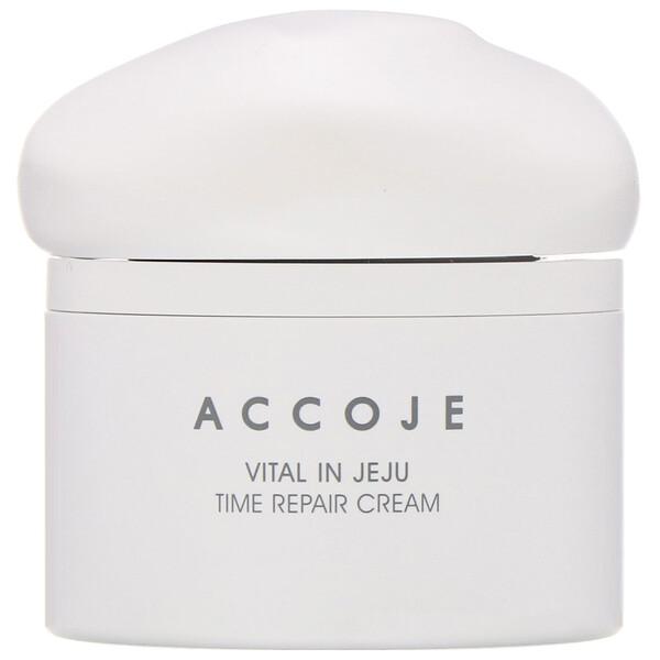 Accoje, Vital in Jeju, Time Repair Cream, 50 ml (Discontinued Item)