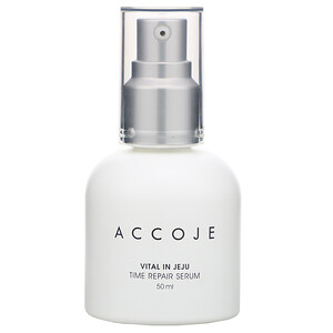 Accoje, Vital in Jeju, Time Repair Serum, 50 ml отзывы