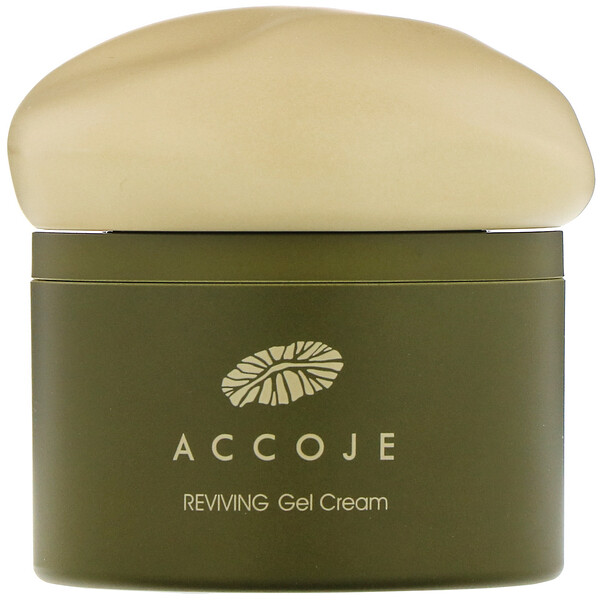 Accoje, Reviving Gel Cream, 50 ml (Discontinued Item)