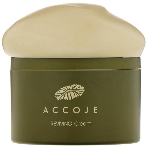 Accoje, रिवाइविंग क्रीम, 50 मिली (Discontinued Item)