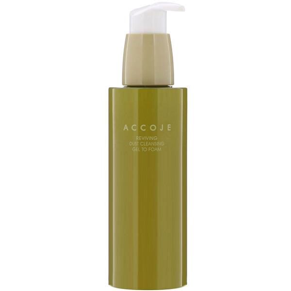 Accoje, Reviving, Dust Cleansing Gel to Foam, 180 ml (Discontinued Item)