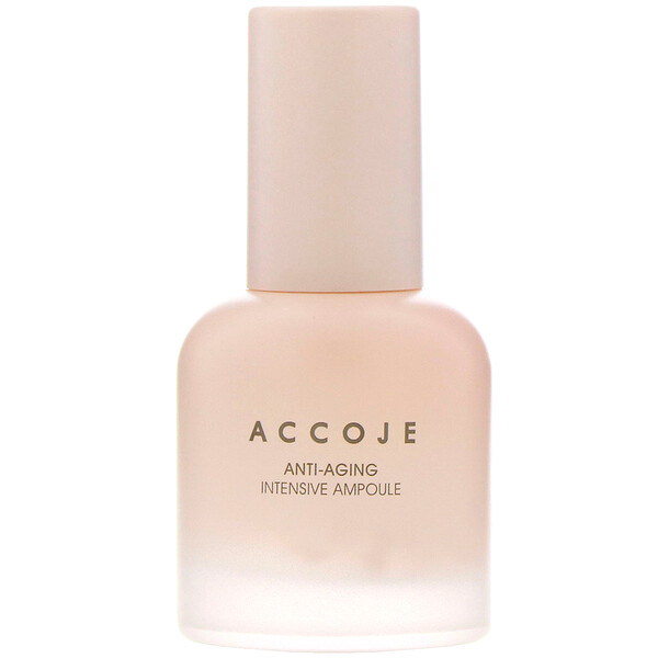 Accoje, Anti-Aging, Intensive Ampoule, 30 ml (Discontinued Item)