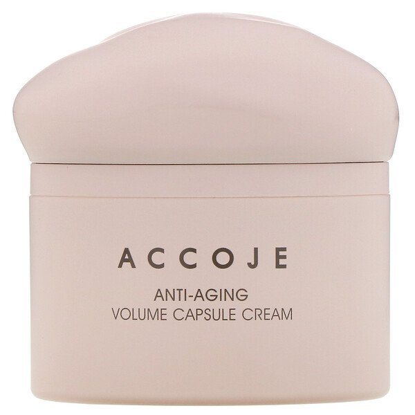 Accoje, Anti-Aging, Volume Capsule Cream, 50 ml (Discontinued Item)