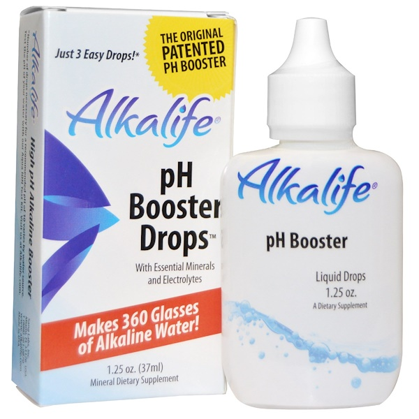 Alkalife, pH Booster Drops, 1,25 унции (37 мл) (Discontinued Item)