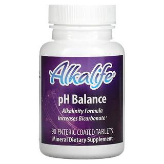 Alkalife, pH Balance, 90 Enteric Coated Tablets