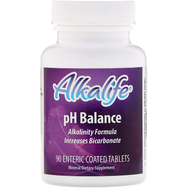 Alkalife, pH Balance, 90 Enteric Coated Tablets (Discontinued Item)