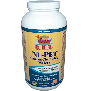 Арк Натуралс, Nu-Pet, Canine Chewable Wafers, For Dogs, 270 Wafers отзывы