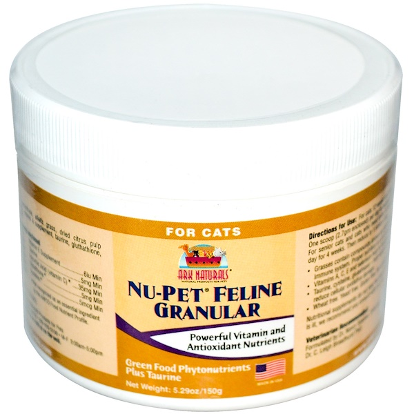 Ark Naturals, Nu-Pet Feline Granular, For Cats, 5.29 oz (150 g) (Discontinued Item)