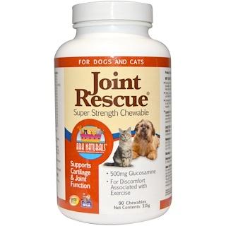 Ark Naturals, Joint «Rescue», жевательные пластинки супер силы, для собак и котов, 90 жевательных пластинок