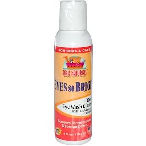 Арк Натуралс, Eyes So Bright, Gentle Eye Wash Cleanser, For Dogs & Cats, 4 fl oz (118.3 ml) отзывы покупателей