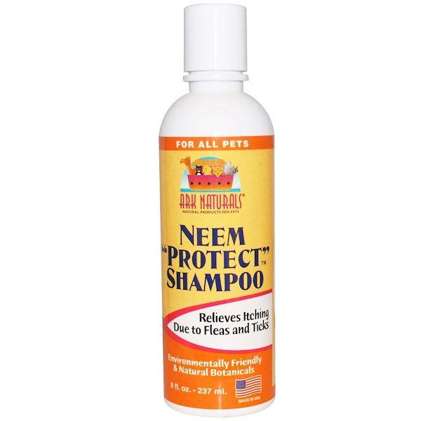 "Ark Naturals, Neem ""Protect"" Shampoo, For All Pets, 8 fl oz, (237 ml) (Discontinued Item)"