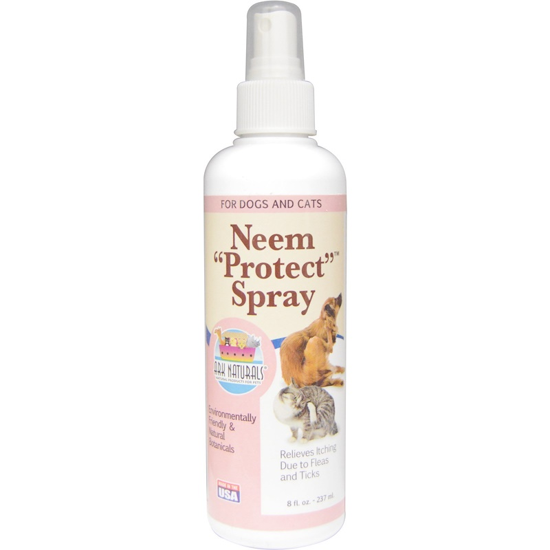 """Neem """"Protect"""" Spray, For Dogs & Cats, 8 fl oz (237 ml)"""