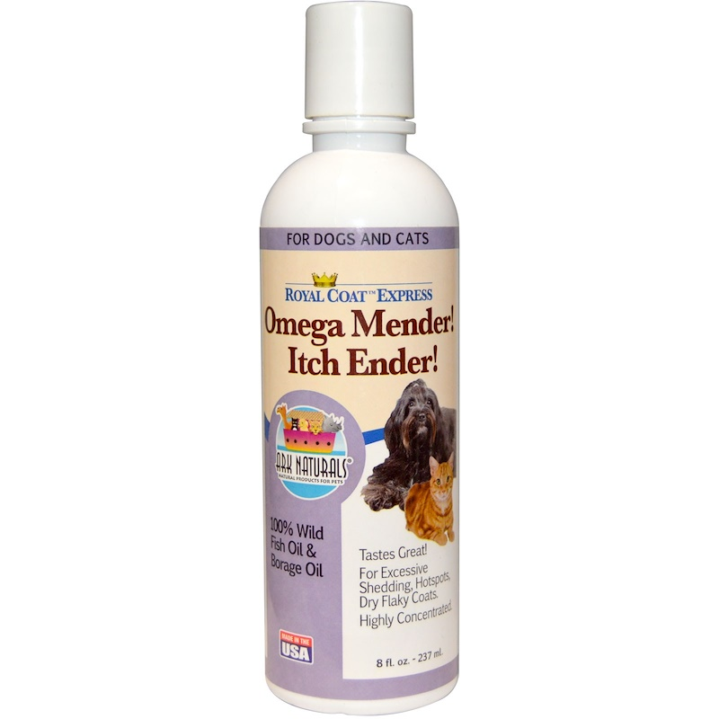 Royal Coat Express, Omega Mender! Itch Ender!, For Cats & Dogs, 8 fl oz (237ml)