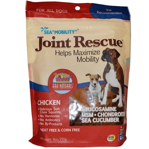 "Ark Naturals, Sea ""Mobility"", Joint Rescue, For All Dogs, Chicken, 9 oz (255 g) (Discontinued Item)"