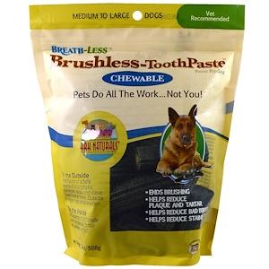 Арк Натуралс, Breath-Less, Brushless Toothpaste, Chewable, Medium To Large Dogs, 18 oz (508 g) отзывы покупателей