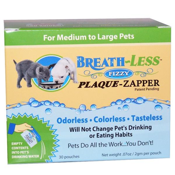 Ark Naturals, Breath-Less Fizzy Plaque-Zapper, 30 Pouches, .07 oz (2 g) Each (Discontinued Item)