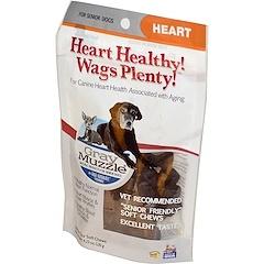 Ark Naturals, Здоровая мордочка! Здоровье сердца! Виляние хвостом!, средство для сердца для пожилых собак, 60 крохотных мягких жвачек, 120 г (4,23 унций)
