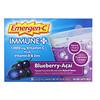 Emergen-C, Immune +,  Vitamin C Plus Vitamin D & Zinc, Blueberry-Acai, 1,000 mg, 30 Packets, 0.32 oz (9.0 g) Each