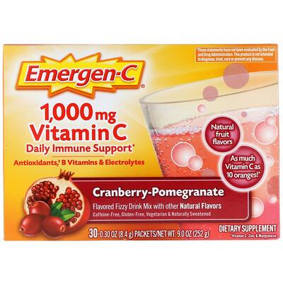1000 мг витамина С со вкусом клюквы и граната, 30 пакетов по 8,4 г каждый биоинновации кисель желудочный нейтральный 5 пакетов по 20 г