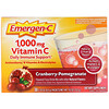 Emergen-C, Vitamin C, Cranberry-Pomegranate, 1,000 mg, 30 Packets, 0.30 oz (8.4 g) Each