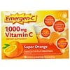 Emergen-C, 1000 mg de vitamine C, Super Orange, 30 sachets, 9,1 g chacun