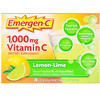 Emergen-C, Vitamin C, Flavored Fizzy Drink Mix, Lemon-Lime, 1,000 mg, 30 Packets, 0.33 oz (9.4 g) Each