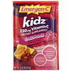 Emergen-C, Kidz, Vitamin C, Flavored Fizzy Drink Mix, Fruit Punch, 250 mg, 30 Packets, 0.33 oz (9.4 g) Each