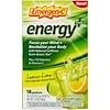 Emergen-C, Energy Plus, Lemon Lime, 18 Packets, 0.32 oz (9.2 g ) Each
