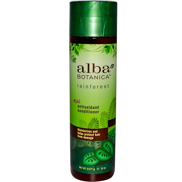 Alba Botanica, Acai Antioxidant Conditioner, 8 fl oz (227 g) (Discontinued Item)